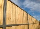 Lap and Cap Timber Fencing Farm Fencing